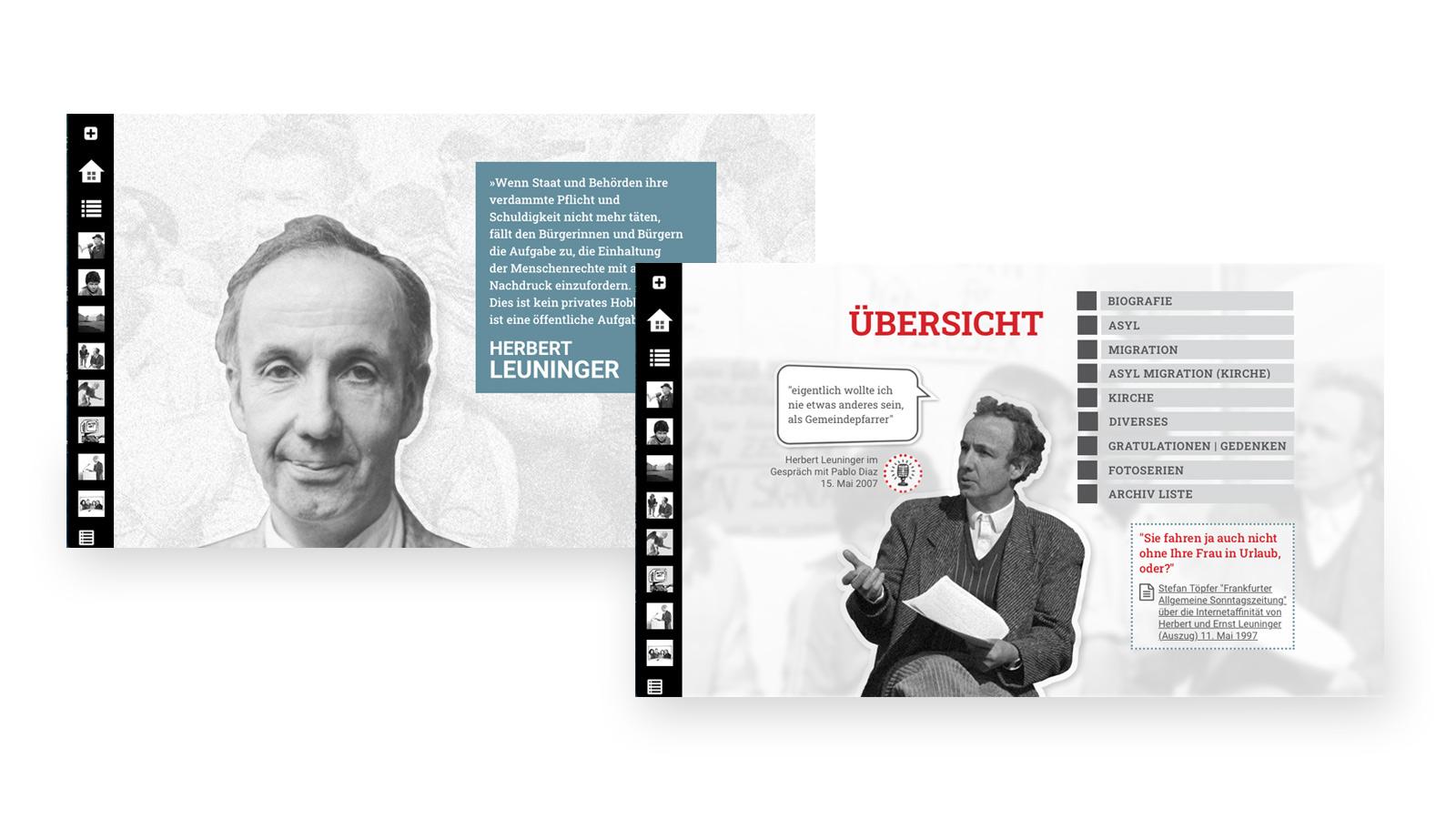 Archiv und Portrait – Herbert Leuninger